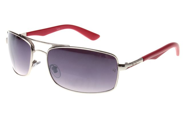 Ray Ban Active Lifestyle RB3460 Sunglasses Gunmetal/Red Frame