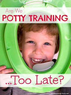Are we potty training too late @Mums make lists ... #parenting