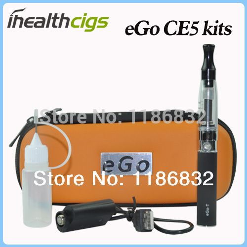 eGo CE5 electronic cigarette eGo CE5 e cigs CE5 atomizer eGo-T battery 650mAh 900mAh 1100mAh eGo CE5 kits Zipper Free Shipping | Price: US $7.13 | http://www.bestali.com/goto/1768908581/10