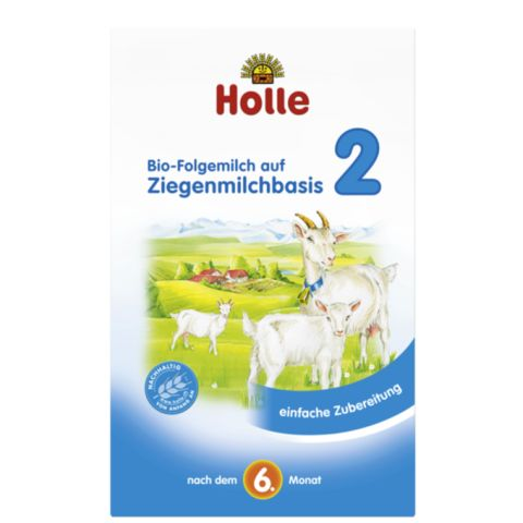 HOLLE Organic Goat Milk Stage 2 Holle Organic Goats Milk Formula can be used to continue after breastfeeding or after using a Stage 1 or Stage 2 infant formula. It is made of 99% organically produced ingredients. The organic milk used in the formula is from goats which have been kept in their natural environment. #breastmilk #babycare #babyfood #infant #babyformula #formula #hipp #glutenfree #organic