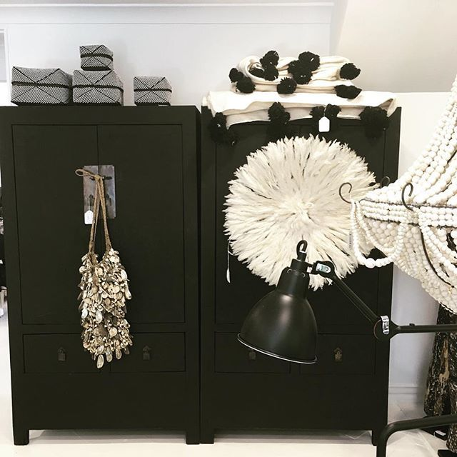 We love our matte black cabinets at LuMu. This pair had arrived in store today. Enquiry about these and other available pieces. LuMu Interiors 14 Transvaal Ave Double Bay www.lumuinteriors.com