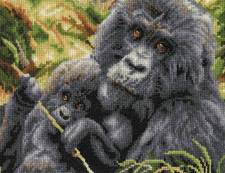 "DMC Counted Cross Stitch Kit ""Maternal Instinct"" in Crafts, Cross Stitch, Cross Stitch Kits | eBay"