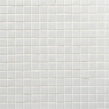 Mosa que sol mur en p te de verre 2x2 blanc for Mosaique salle de bain leroy merlin