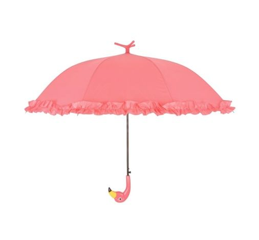 Flamingo paraplu, roesjesparaplu, roze paraplu, flamingomusthaves, flamingoaccessoires, flamingospullen, flamingoprint, roze flamingo, regenbescherming, regenjas, interieurmusthaves, interieuraccessoires, interieurspullen