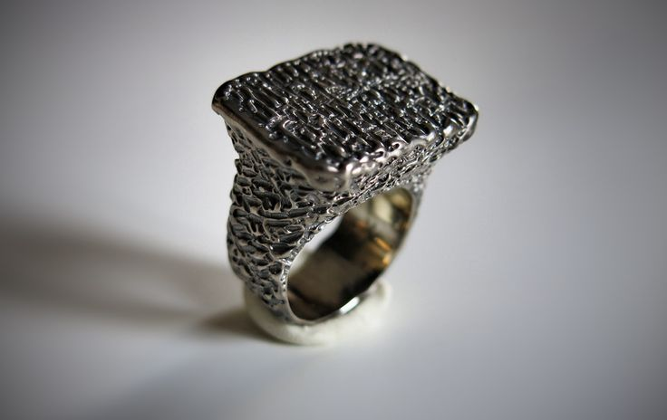 Dedalo (silver) | made by hand silver ring  http://www.mimietoile.it/shop/dedalo-argento/