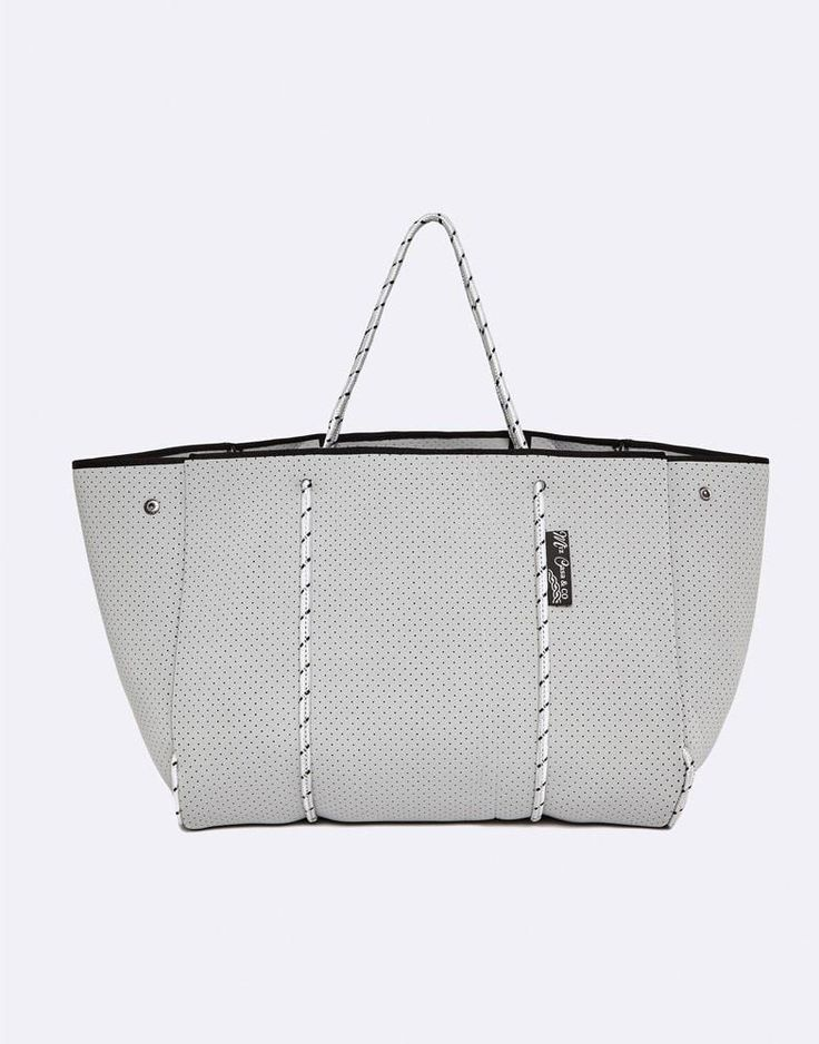 MIZ CASA & CO SAMMY TOTE BAG GREY