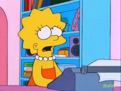 —Homero:¡Mira tengo el segundo premio!  —Lisa: ¿ganaste el premio..?  —Homero: ¡no, me lo robe!  ...Robar es malo.