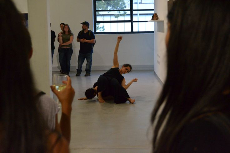 A performance piece at the opening of 'Defining the Narrative' at #gallerymomo #capetown