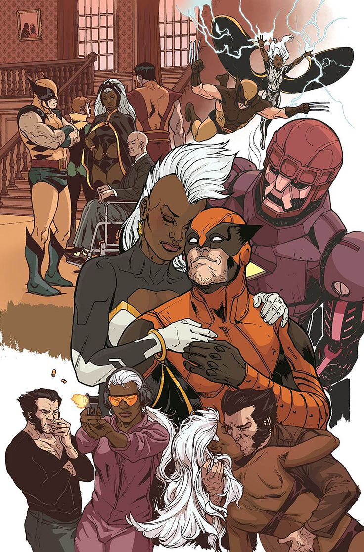"""Images for : Pak Creates a Chaotic """"Storm"""" with the Death of Wolverine - Comic Book Resources"""
