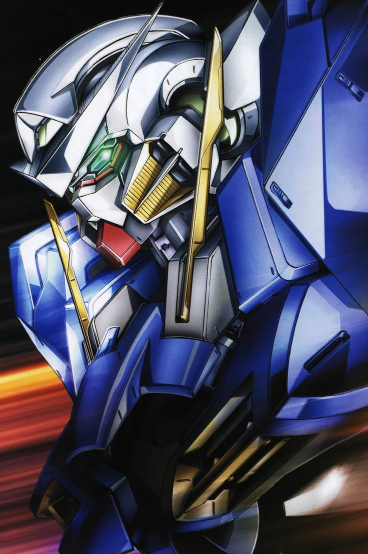 Mobile Suit Gundam 00 / Anime mecha art