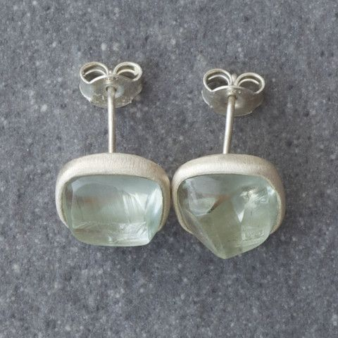 Plaza Green Earrings