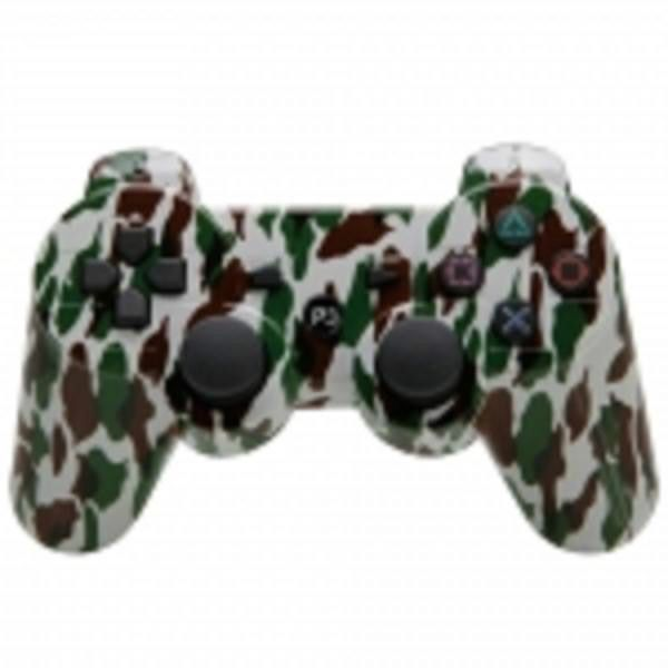 Wireless Bluetooth Controller for Sony Playstation 3 PS3 Camouflage #unbranded