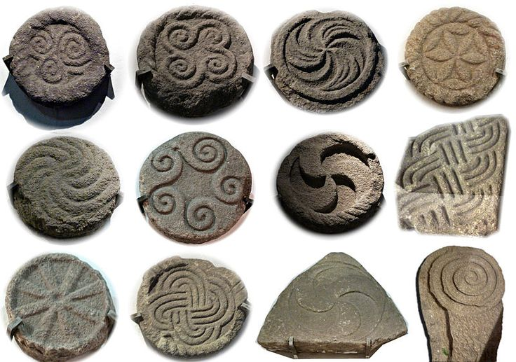 Selection of carvings from the Castro de Santa Trega - Castro culture - Wikipedia, the free encyclopedia