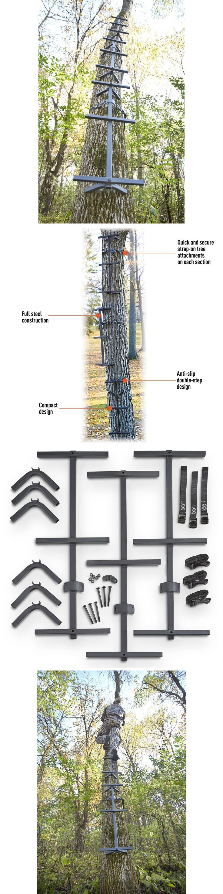 The 25 best ladder tree stands ideas on pinterest cat for Climbing tree stand plans