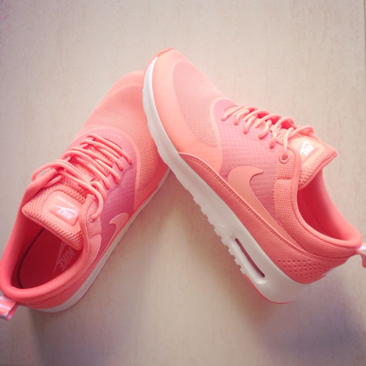 Nike air Thea in coral  I love these trainers