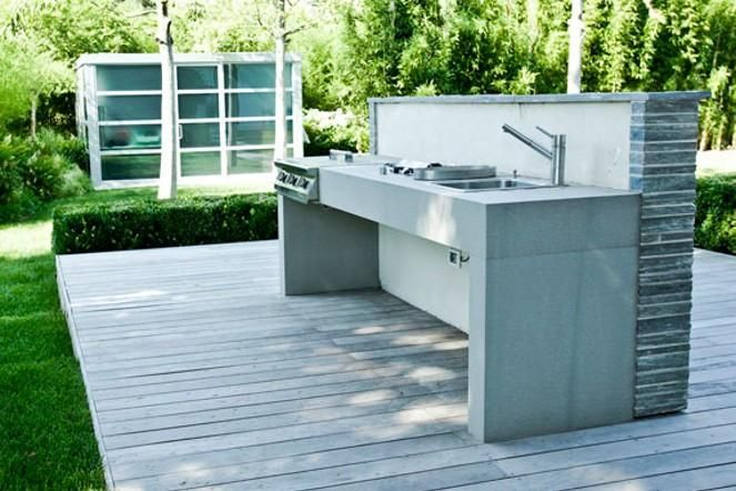 176 best outdoor kitchen and bbq images on pinterest - Cucina da esterno fai da te ...