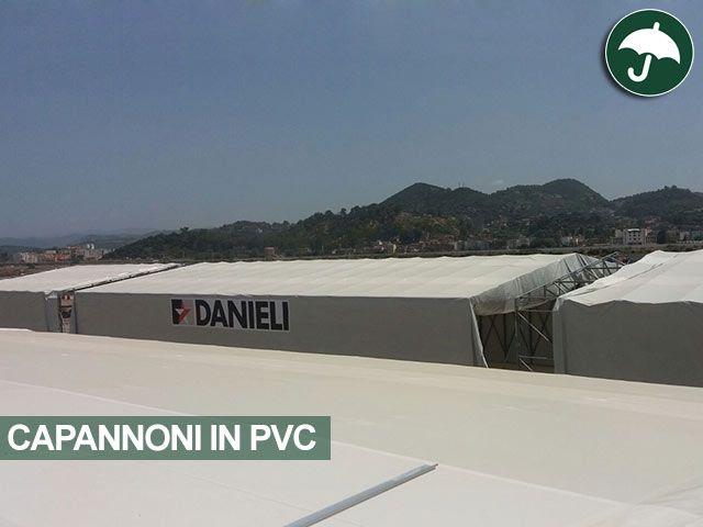 I #capannoni in #pvc #civert sbarcano in #Algeria. Guarda gli altri scatti del cantiere #Danieli spa