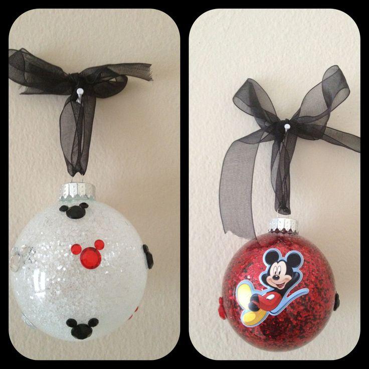 Mickey mouse Christmas ornaments | Minnie christmas ...