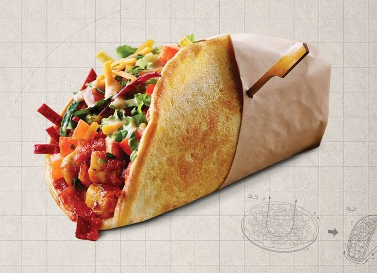 "And a pizza taco. | A Canadian Pizza Chain Has Created A ""Pizza Cake,"" A Glorious Layered Pizza Monstrosity"