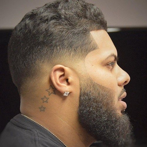 Black Low Fade Haircut