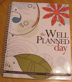 A Well Planned Day Family Planner by HEDUA ~ Review & Giveaway! - The Homeschool Four