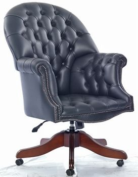 Captivating Thame: Italian Leather Chair