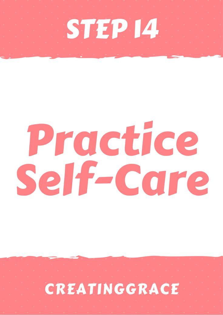step 14_ practice self-care