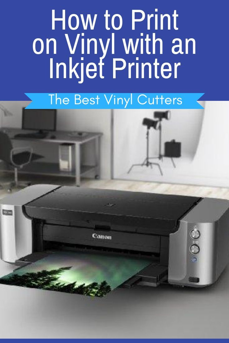 image regarding Printable Vinyl Laser Printer named How in the direction of Print upon Vinyl with an Inkjet Printer. Would by yourself including