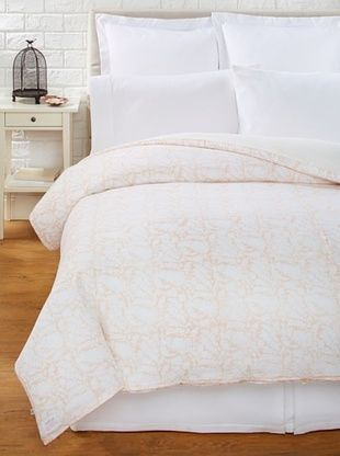 70% OFF Kerry Cassill Duvet Cover (Tan Floral)