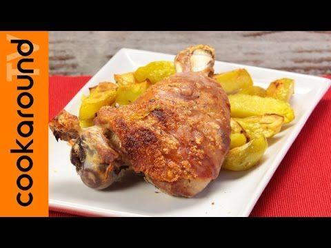 Un viandante in cucina: Maialino arrosto con patate