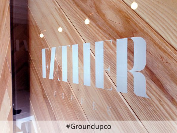 Father Coffee Shop, one of many successful renovations in the commercial sector #FatherCoffeeShop #GroundUPCo