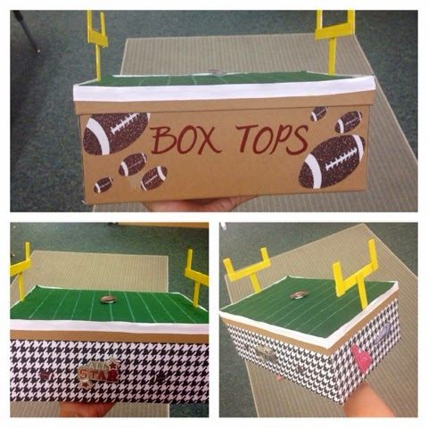 Box Tops for Education Box Roll Tide!!