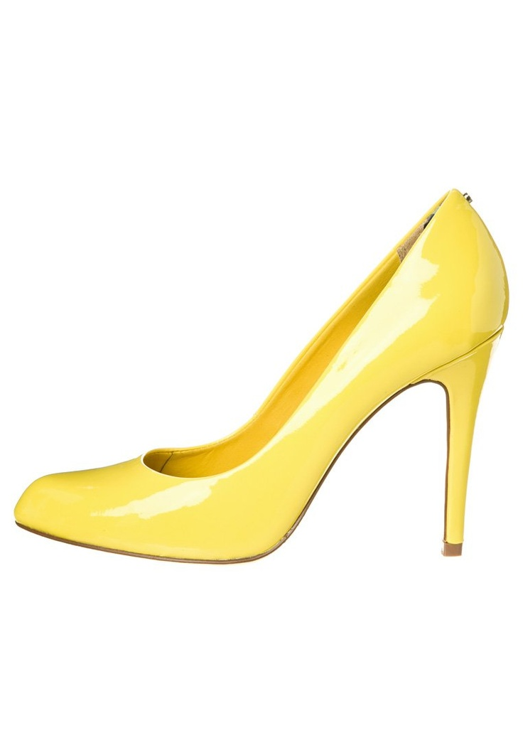 #szpilki #zolty #zalando #yellow