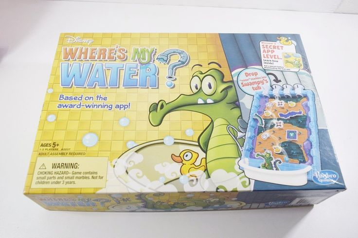 Just added Game Disney Board... to our Inventory! Check it out here: http://oceanside-flipping.myshopify.com/products/game-disney-board-wheres-my-water-board-by-hasbro?utm_campaign=social_autopilot&utm_source=pin&utm_medium=pin  #Oceanside #OceansideCA #SanDiego #4Sale #Buy #Trade #Sell
