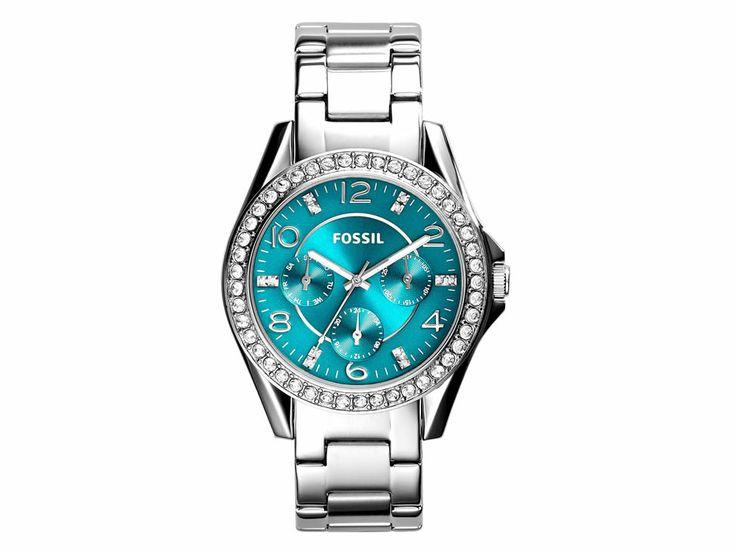 Reloj Fossil Riley Turquesa Dama 38-Liverpool es parte de MI vida