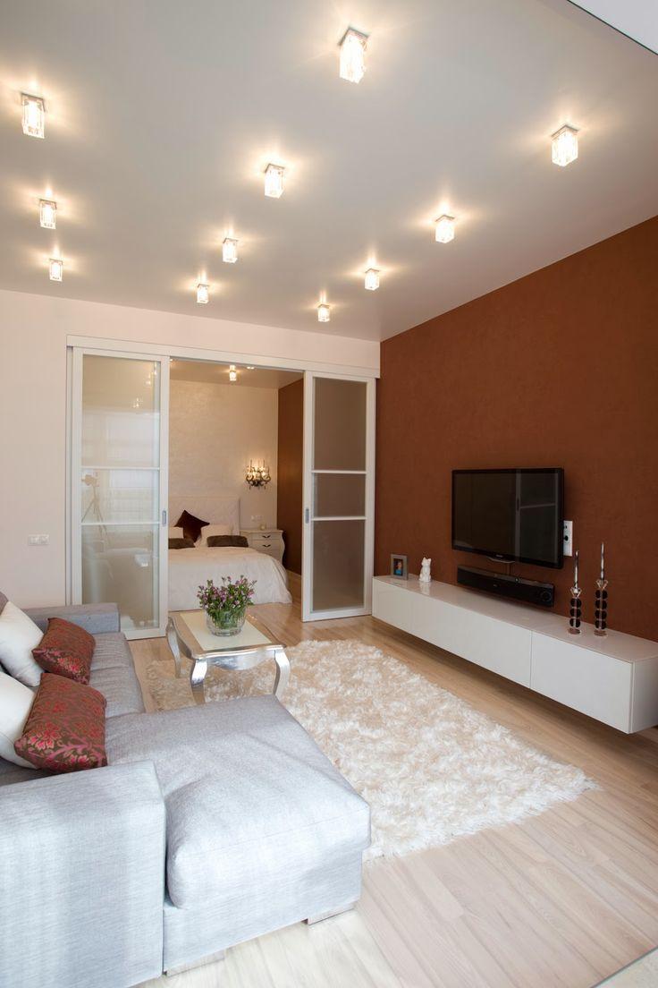 Дизайн однокомнатной квартиры: Однокомнатная квартира на Таганке, 60 кв.м.