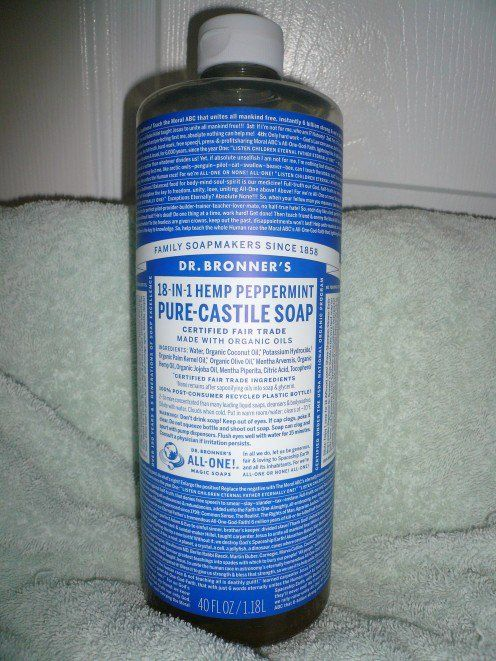 Review of Dr  Bronner's 18-in-1 Liquid Hemp Peppermint Pure
