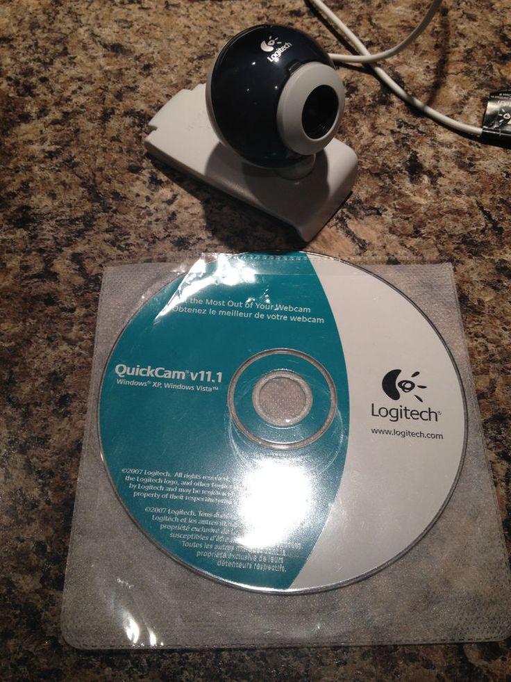 Logitech QuickCam v11.1 Webcam Windos XP and Vista #Logitech