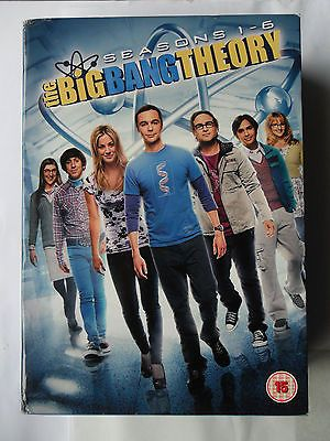 The big bang #theory dvd complete 1 - 6 18 disc box set #sheldon #penny galecki c,  View more on the LINK: http://www.zeppy.io/product/gb/2/272259015397/