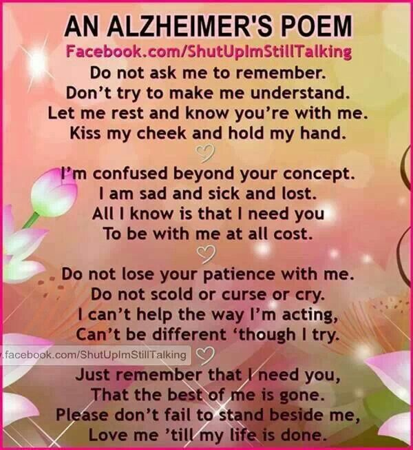 Emo Quotes About Suicide: Alzheimers Prayer