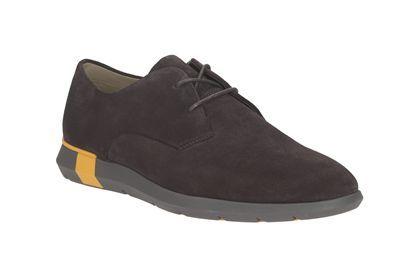 Mens Formal Shoes - Javan Walk in Purple Suede from Clarks shoes
