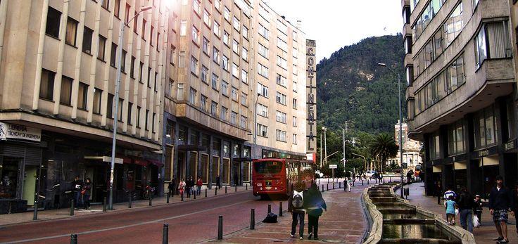 Jimenez con Cuarta. Bogotá, Foto de Daniel en Flickr.