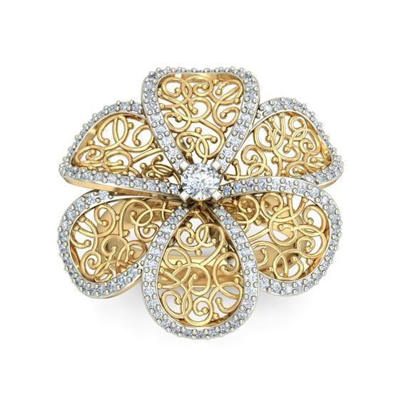 Shop Diamond Rings Online at Rangrasiya. Indian Online Diamond Jewellery Store. Check Latest Collections in Diamond Rings, Earrings, Diamond Bangles and Pendants.