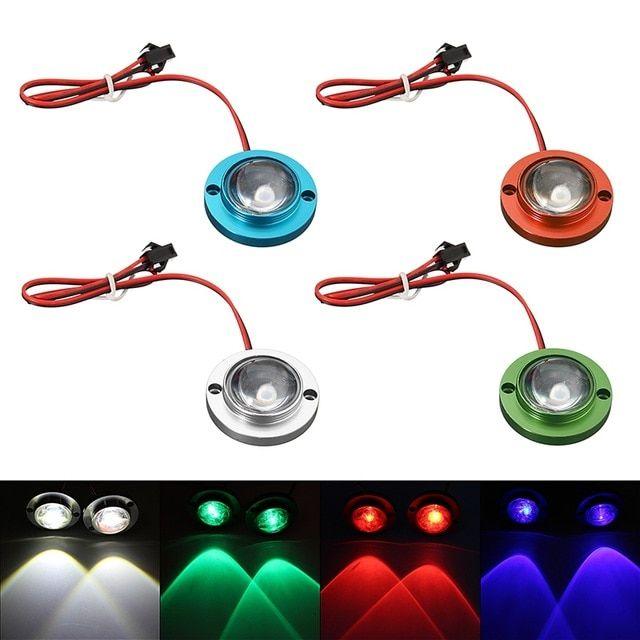 Universal Motorcycle LED Strobe Flash Warning Light Brake Light Spotlights Lamp