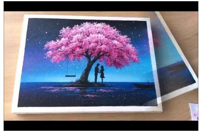 Mulan Love Quotes Cherry Blossom Painting Tree Painting Tree Painting Easy