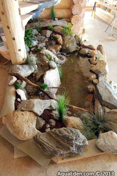 39 best indoor pond images on pinterest for Koi pond builders mn