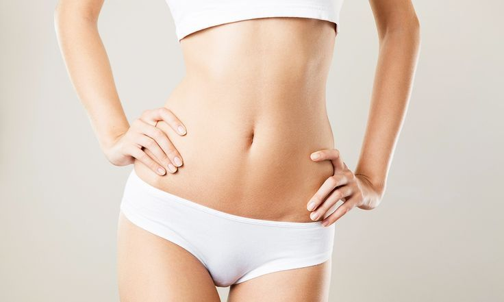 Ultrasonic Lipolysis Sessions – Liposculpture Before and After – Color Photo – #…