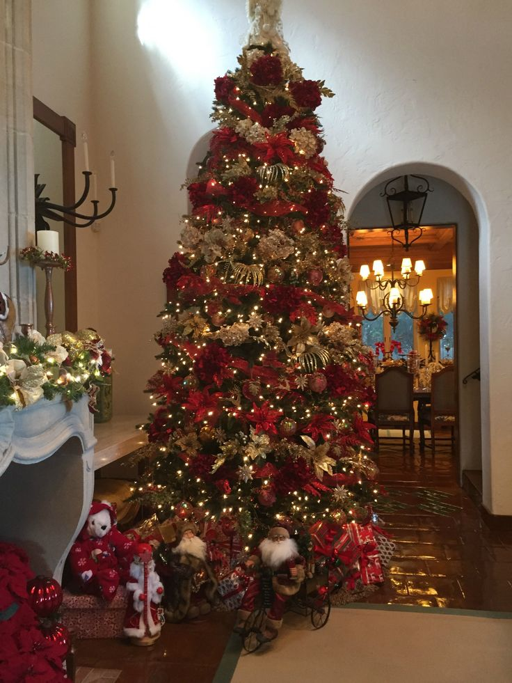 Christmas Decorations At Haskins : Images about frontgate holiday homes on