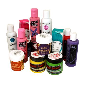 Haircrazy.com - shop for a wide selection of semi-permanent hair dyes, shipped from the UK.