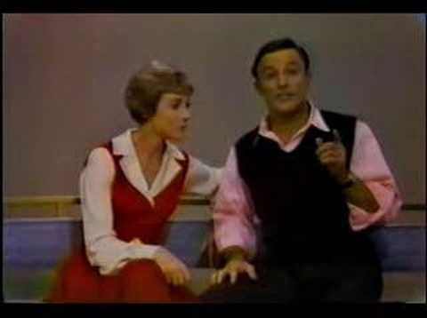This will always be my favorite youtube video.  Julie Andrews and Gene Kelly - Tapping game
